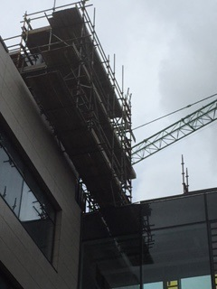 scaffolding hire for highrise building