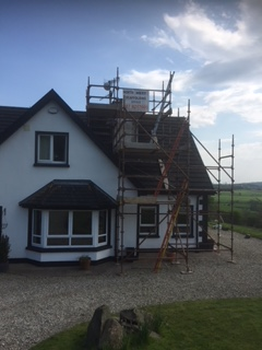 Chimney Scaffolding erection and hire