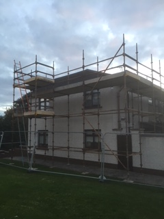 scaffolding hirel for domestic house