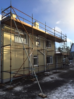 scaffolding rental for domestic house
